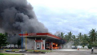 Photo of SPBU Maje Terbakar, Kerugian Mencapai Ratusan Juta