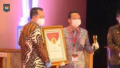 Photo of Pemprov Bengkulu Raih Penghargaan Provinsi Sangat Inovatif Dalam Ajang IGA Tahun 2020