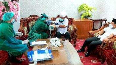Photo of Persiapan Penyuntikan Vaksin Covid-19, Walikota dan Wawali Discreening