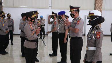 Photo of Sebanyak 732 personil Polda Bengkulu Naik Pangkat