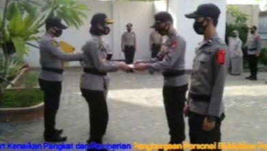 Photo of Enam personel Biddokkes Polda Bengkulu Mendapatkan Kenaikan Pangkat