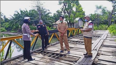 Photo of Polres Bengkulu Bersama DPUPR Kota Survei Jembatan Penghubung Penurunan-Lempuing