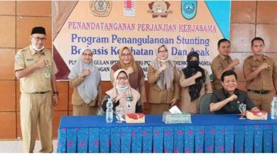 Photo of Poltekkes Kemenkes dan Pemkab BU Tanggulangi Stunting Berbasis Kesehatan Ibu dan Anak