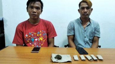 Photo of Miliki 6 Paket Ganja, 2 Warga Muara Bangkahulu Ditangkap Polisi