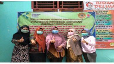 Photo of Poltekkes Kemenkes Tingkatkan Peran Ibu Hamil dalam Hypnobirthing di Kampung Melayu