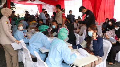 Photo of Akpol Angkatan 94 Gelar Vaksinasi Massal dan Bhakti Sosial