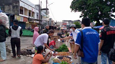 Photo of HUT ke Satu, MOI Bengkulu Bagikan 1000 Masker ke Pasar
