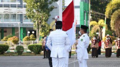 Photo of Plt Rektor UIN Pimpin Upacara HUT RI ke 76