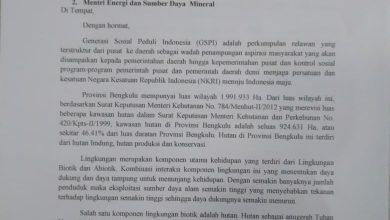 Photo of Tiga Perusahaan Tambang Batu Bara di Bengkulu Ini, Diduga Menentang Aturan Menteri LHK